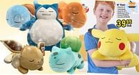 18`` plush sleeping pikachu-Pokemon