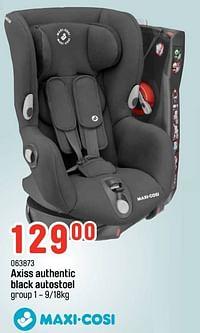 Axiss authentic black autostoel-Maxi-cosi