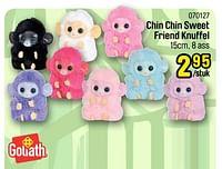 Chin chin sweet friend knuffel-Goliath