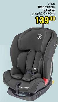 Titan fix black autostoel-Maxi-cosi