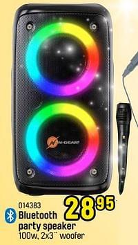 Bluetooth party speaker-N-Gear
