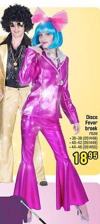 Disco fever broek roze-Huismerk - Happyland
