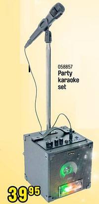 Party karaoke set-Party