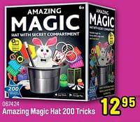 Amazing magic hat 200 tricks-Huismerk - Happyland