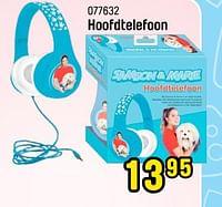 Hoofdtelefoon-Samson & Marie