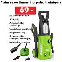 Artos clean ruim assortiment hogedrukreinigers-Artos Clean