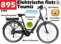 Elektrische fiets tounis-Tounis