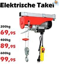 Elektrische takel-Huismerk - Itek