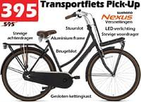 Transportfiets pick-up-Huismerk - Itek