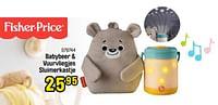 Babybeer + vuurvliegjes sluimerkastje-Fisher-Price