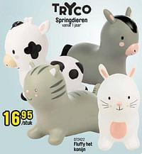 Fluffy het konijn-Tryco