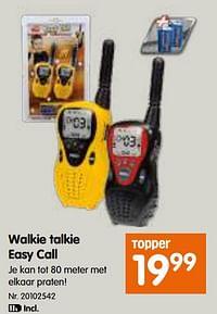Walkie talkie easy call-Dickie