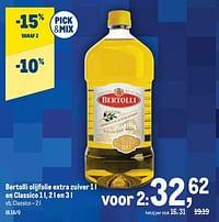 Bertolli olijfolie extra zuiver en classico-Bertolli
