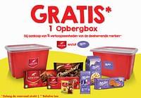 Gratis 1 opbergbox bij aankoop van 4 verkoopseenheden van de deelnemende merken-Huismerk - Makro