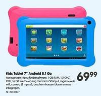 Kids tablet 7`` android 8.1 go-Huismerk - Fun