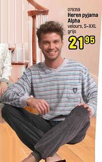 Heren pyjama alpha-Huismerk - Happyland