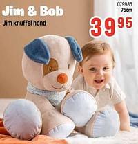 Jim knuffel hond-Nattou
