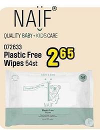 Plastic free wipes-Naif