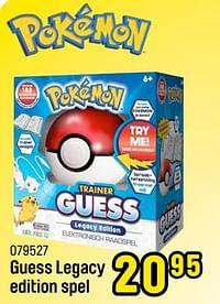 Guess legacy edition spel-Pokemon