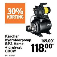 Kärcher hydrofoorpomp bp3 home + drukvat 800w-Kärcher