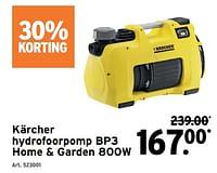 Kärcher hydrofoorpomp bp3 home + garden 800w-Kärcher