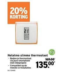 Netatmo slimme thermostaat-NetAtmo