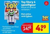 Toy story 4 speelfiguur-Mattel