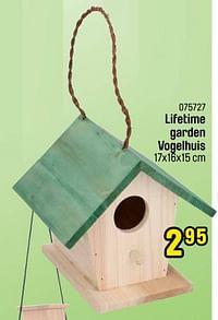 Lifetime garden vogelhuis-Huismerk - Happyland