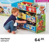 Paw patrol opbergrek-PAW  PATROL