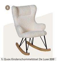 Quax kinderschommelstoel de luxe-Quax
