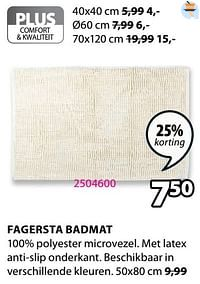 Fagersta badmat-Huismerk - Jysk