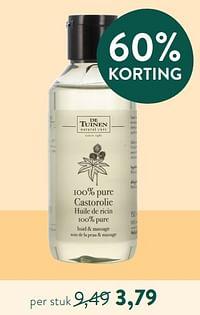 100% pure castorolie-De Tuinen