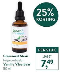 Vanille vloeibaar-Stevia