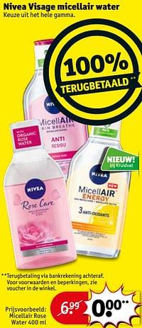 Micellair rose water-Nivea