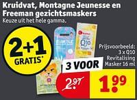 Q10 revitalising masker-Huismerk - Kruidvat
