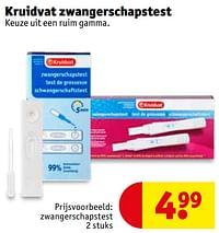Zwangerschapstest-Huismerk - Kruidvat
