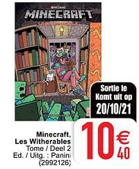 Minecraft, les witherables-Huismerk - Cora
