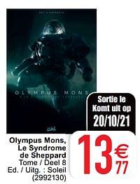 Olympus mons, le syndrome de sheppard-Huismerk - Cora