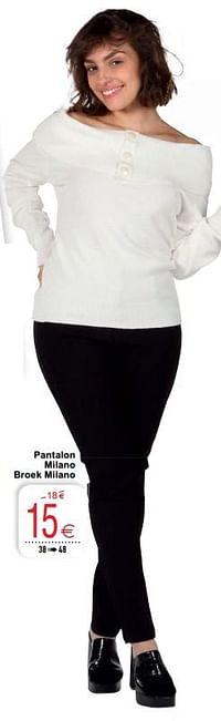 Pantalon milano broek milano-Huismerk - Cora