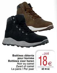 Bottines détente pour homme bottines voor heren-Huismerk - Cora