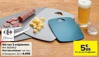 Set van 3 snijplanken-Huismerk - Carrefour