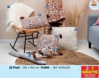 Plaid-Huismerk - Carrefour