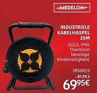 Industriele kabelhaspel-Medelon