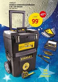 Mobiele gereedschapswagen 2 in 1 op wielen-Stanley