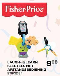 Laugh- + learn sleutels met afstandsbediening-Fisher-Price
