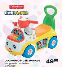 Loopauto music parade-Fisher-Price