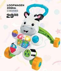 Loopwagen zebra-Fisher-Price