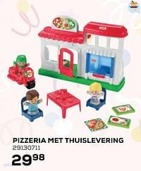 Pizzeria met thuislevering-Fisher-Price