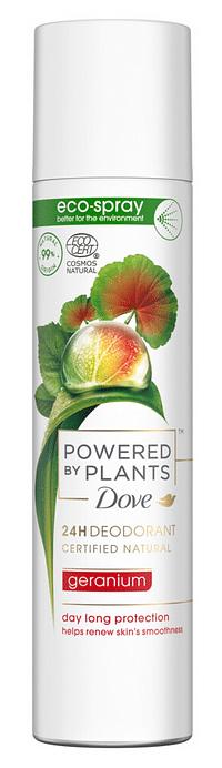 Dove Powered By Plants Geranium Deodorant Spray-Dove