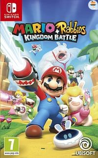 Nintendo Switch Mario + Rabbids Kingdom Battle ENG/FR-Nintendo